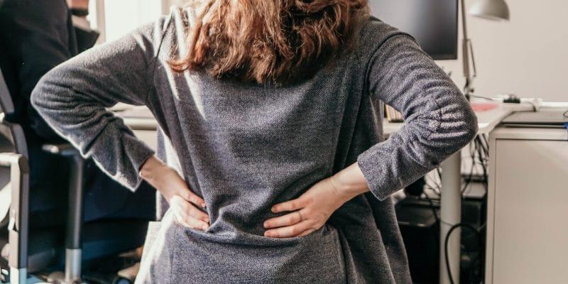 Rückenschmerzen im Office